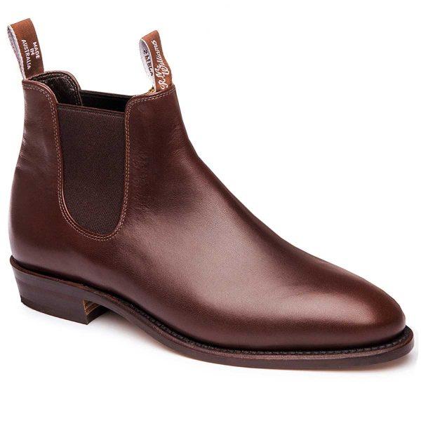 RM WILLIAMS Boots - Ladies Classic Adelaide - Dark Tan