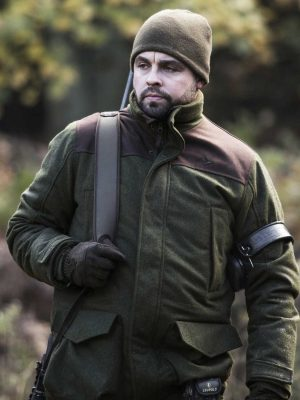 SEELAND - Mens Dyna Jacket - Forest Green