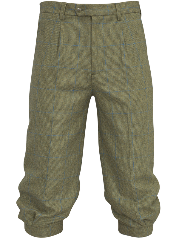 ALAN PAINE Breeks - Mens Combrook Tweed - Lagoon