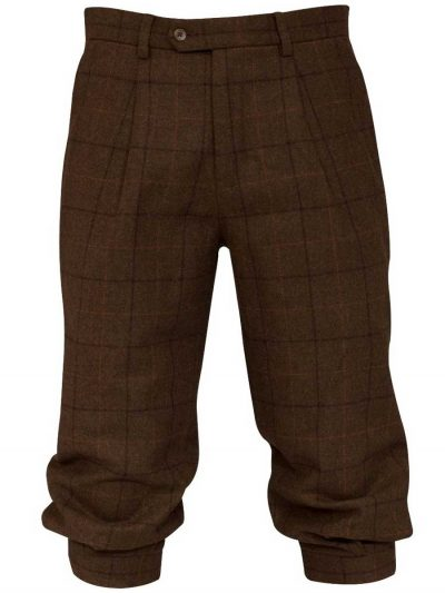 ALAN PAINE Breeks - Mens Combrook Tweed - Woodland