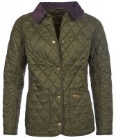 Barbour - Ladies Annandale Quilted Jacket - Olive