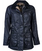 Barbour - Ladies Beadnell Wax Jacket Navy