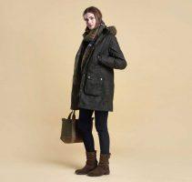 Barbour - Ladies Helsby Parka Wax Jacket
