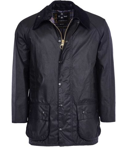 Barbour - Men's Beaufort Wax Jacket Black