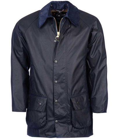 Barbour - Men's Beaufort Wax Jacket Navy