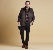 Barbour - Men's Bradford Baffle Quilted Gilet