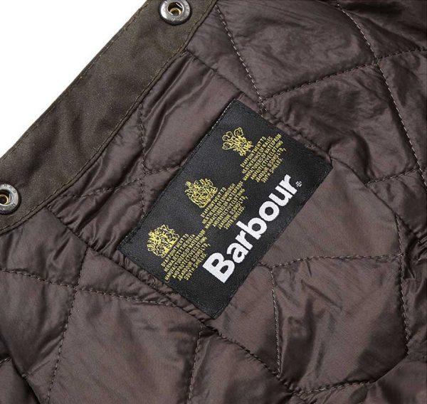 Barbour - Wax Storm Hood Jacket Stud