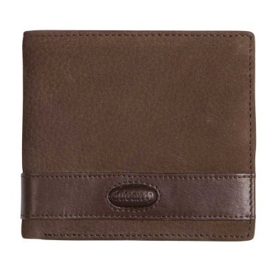 DUBARRY Mens Drummin Leather Wallet - Walnut