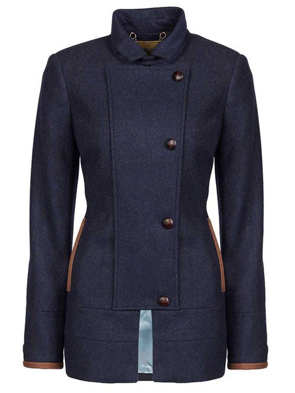 DUBARRY Willow Ladies Sports Tweed Jacket - Navy