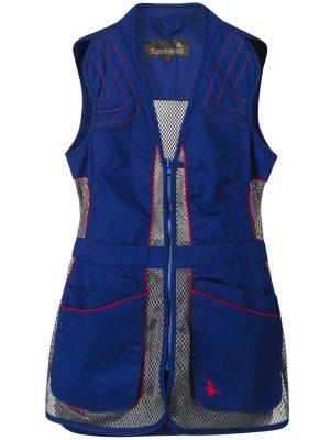 SEELAND Waistcoat - Ladies Skeet II - Sodalite Blue