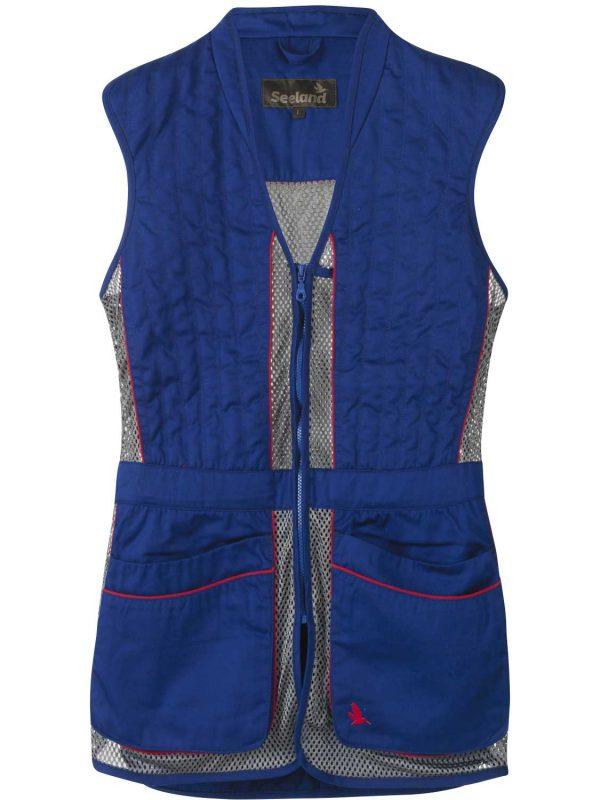 SEELAND Waistcoat - Skeet II Mens - Sodalite Blue