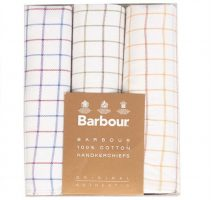 Barbour - Assorted Handkerchief Set - Tattersall Check