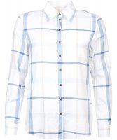 Barbour - Ladies Oxer Check Shirt Blue Check