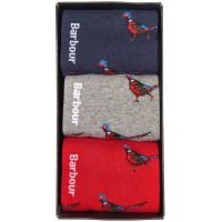 Barbour - Pheasant Sock Gift Box Set