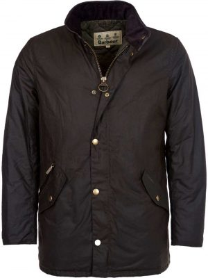 BARBOUR Wax Jacket - Mens Prestbury 6oz Sylkoil - Olive