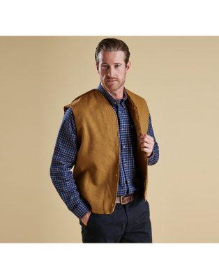 BARBOUR - Men's Warm Pile Snap-In Lining - Brown