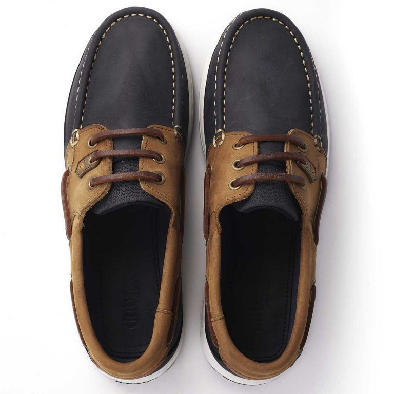 DUBARRY Deck Shoes - Ladies Auckland - Denim / Tan