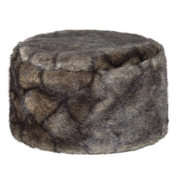 DUBARRY Avoca Pill Box Faux Fur Hat - Chinchilla