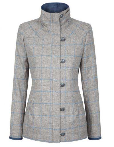 Dubarry Bracken Ladies Tweed Jacket - Shale