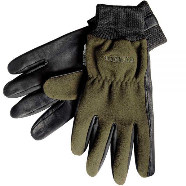 HARKILA Gloves - Pro Shooter Windstopper - Green