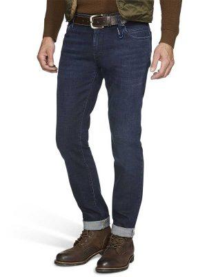 Meyer M5 Jeans - Cross Hedge Stretch Denim - Slim Fit - Dark Blue