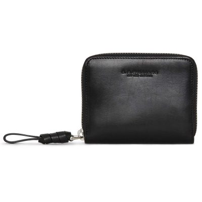 RM Williams Ladies Short Zip Purse - Black