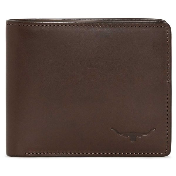 RM Williams - Men's Leather Wallet with Coin Pocket - Chestnut