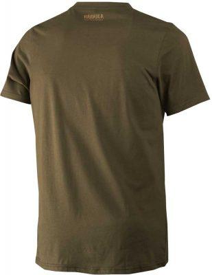 Härkila Odin Moose & Dog Mens T-Shirt - Willow Green