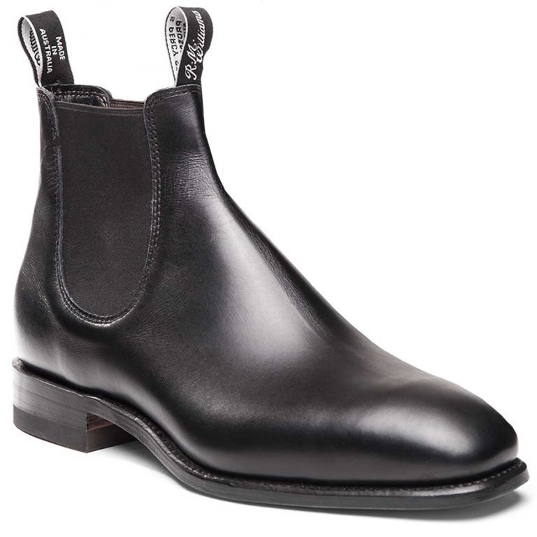 RM WILLIAMS Boots - Men's Classic Craftsman - Black