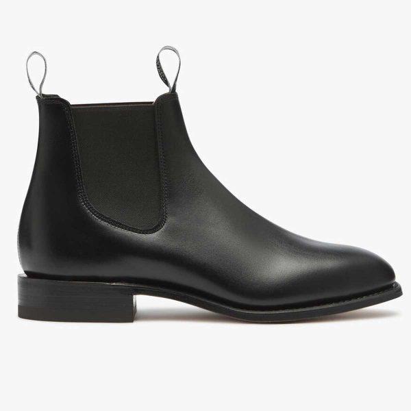 RM WILLIAMS Boots - Men's Classic Craftsman - Black