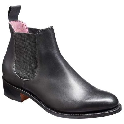 BARKER Violet Boots – Ladies Chelsea – Black Calf