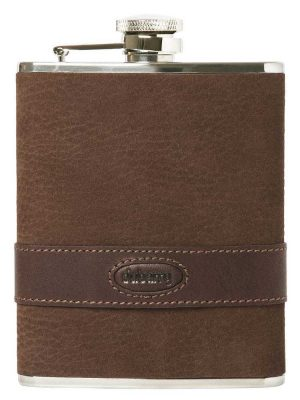 DUBARRY Rugby Leather Hip Flask