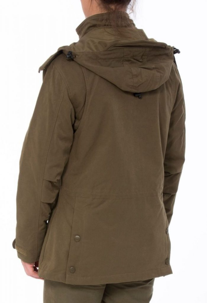 ALAN PAINE - Ladies Dunswell Waterproof Shooting Coat - Olive