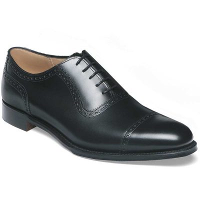 Cheaney - Fenchurch Leather Sole Oxford Shoes Black