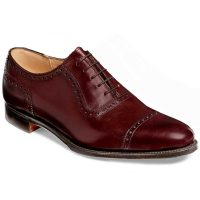 Cheaney - Fenchurch Leather Sole Oxford Shoes Burgundy
