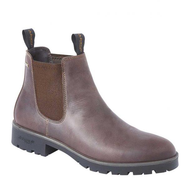 DUBARRY Antrim Chelsea Boots - Ladies Gore-Tex Leather - Old Rum