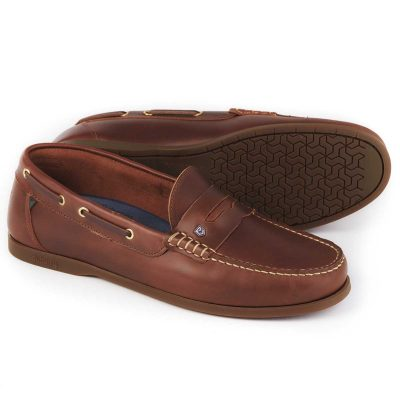 DUBARRY Deck Shoes - Men's Spinnaker Loafer - Brown
