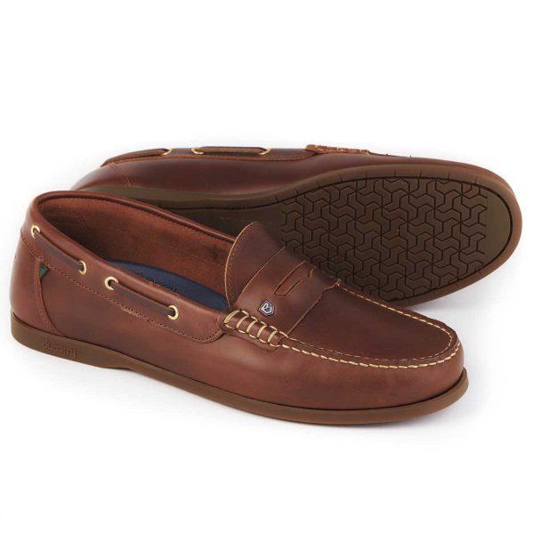 DUBARRY Deck Shoes - Men's Spinnaker Loafer - Brown