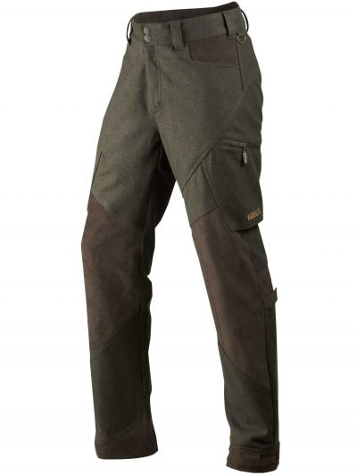 HARKILA Trousers - Mens Metso Active - Willow Green / Shadow Brown