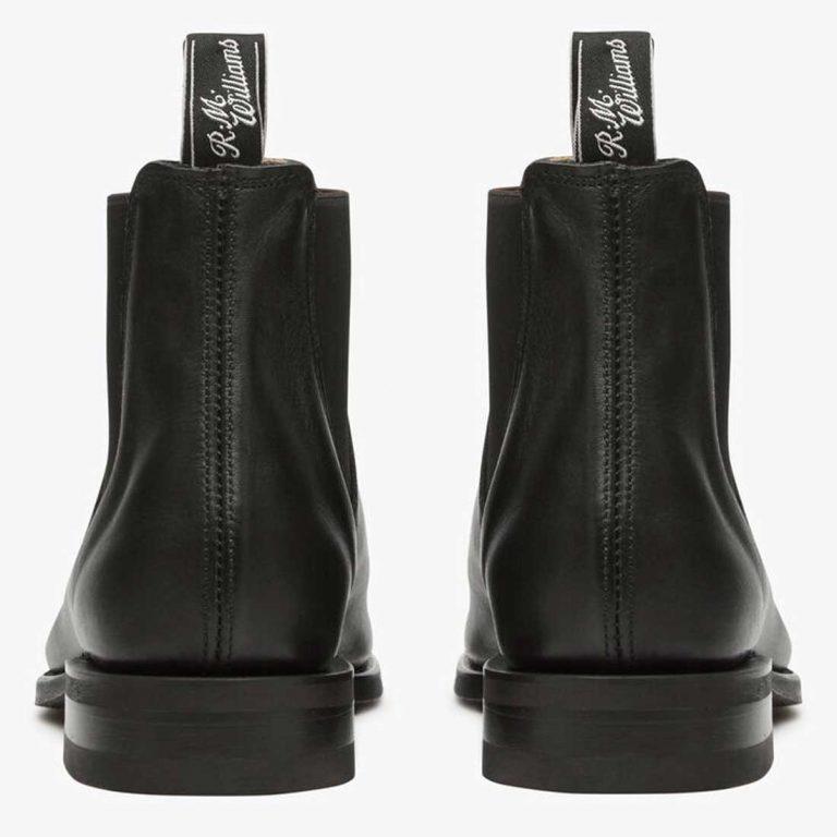 RM WILLIAMS Boots - Men's Classic Turnout - Black