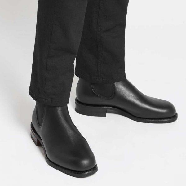RM WILLIAMS Boots - Men's Comfort Turnout - Black