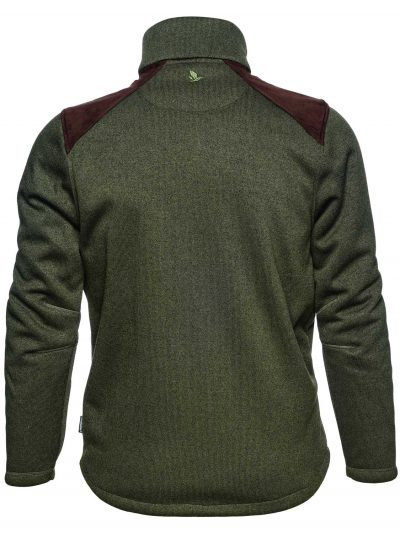 SEELAND Jacket - Mens Dyna Knit Fleece - Forest Green