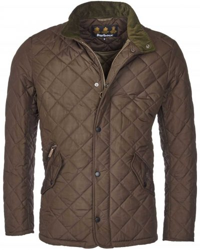 Barbour - Men's Chelsea Sportsquilt Jacket - Tailored Fit - Olive