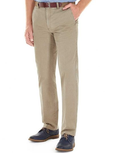 GURTEEN Chinos - Longford Summer Stretch Cotton - Stone