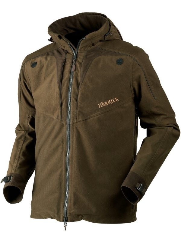 HARKILA Jacket - Mens Norse Lightweight - Hunting Green / Shadow Brown