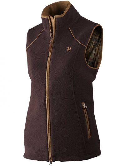 HARKILA Gilet - Ladies Sandhem Fleece Polartech - Dark Port