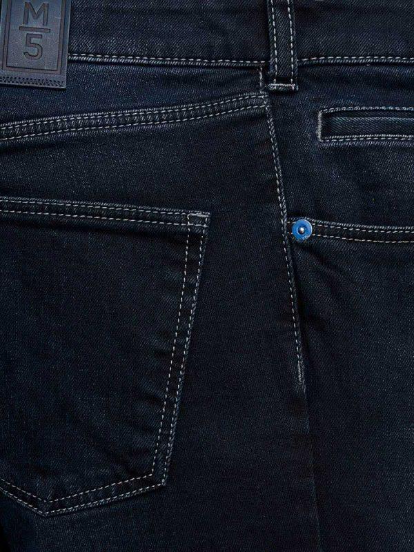Meyer M5 Jeans - 6209 Stretch Denim - Regular Fit - Navy Blue