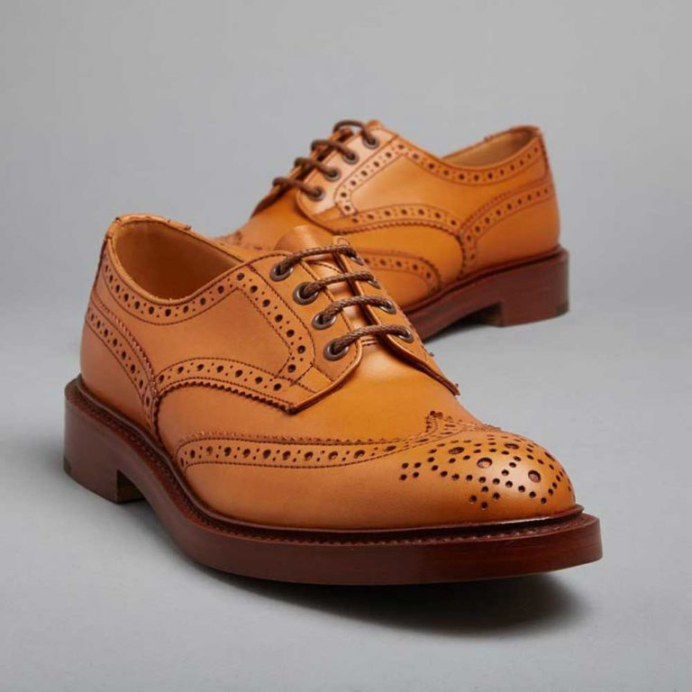 Tricker's Bourton Country Brogues - Leather Sole