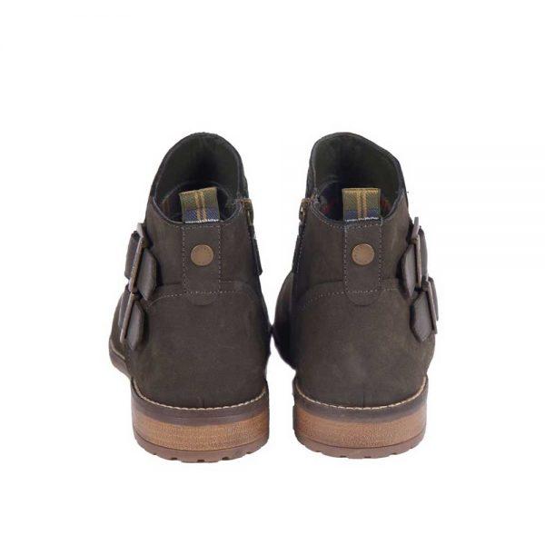 BARBOUR Boots - Ladies Sarah Low Cut Buckle - Charcoal