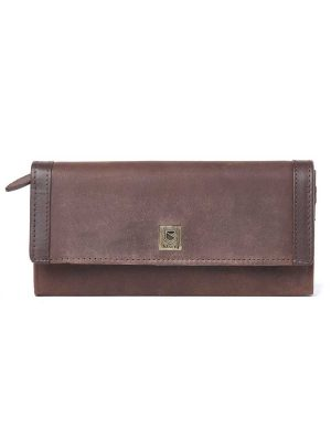 DUBARRY Collinstown Leather Purse – Old Rum